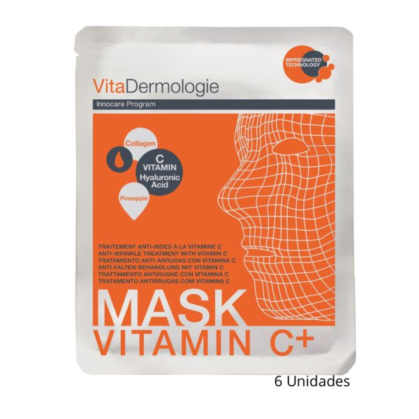 Pack 6 Mascaras Vitamina C